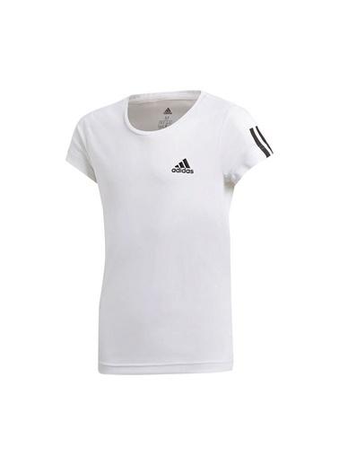 adidas Yg Tr Eq Tee Kız Çocuk Kısa Kol T-Shirt Beyaz